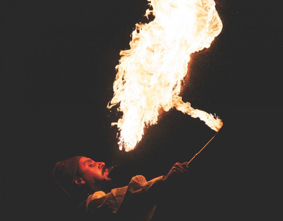 Fire Show - atrakcje na wesele
