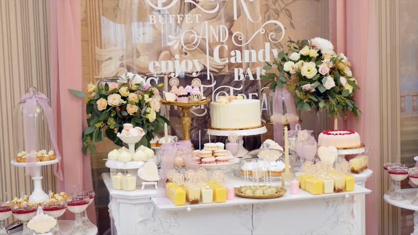 candy bar na wesele